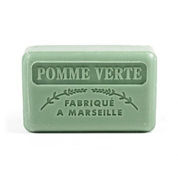 Foufour 125G Savon De Marseille Soap - Green Apple (Pomme Verte)