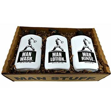 Man Stuff Gift Set - Bath and Body for Men