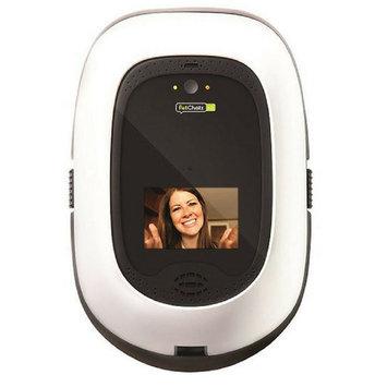 Audio America Petchatz - Greet & Treat Videophone - White/black