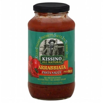KISSINO 117384 24 oz. Sauce Pasta Arrabiata