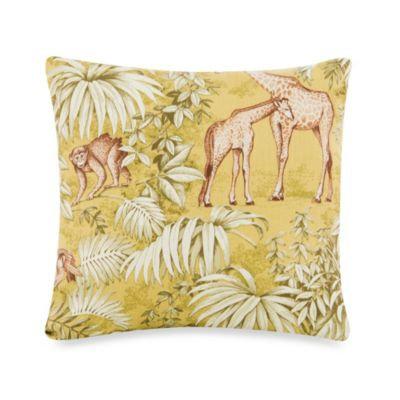 Glenna Jean Capetown Animal Print Pillow