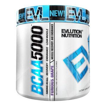 Evlution Nutrition BCAA 5000, Furious Grape, 9.1 Oz