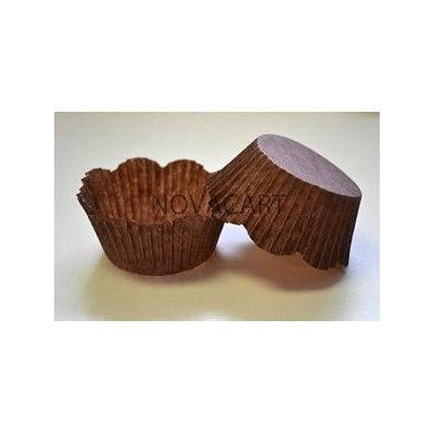 Novacart Disposable Brown Petal Paper Baking Cup - 1 Pack