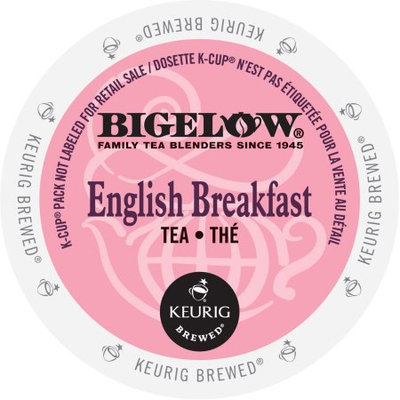 Green Mountain Bigelow English Breakfast Tea, K-Cup Portion Pack for Keurig Brewers (24 Count)