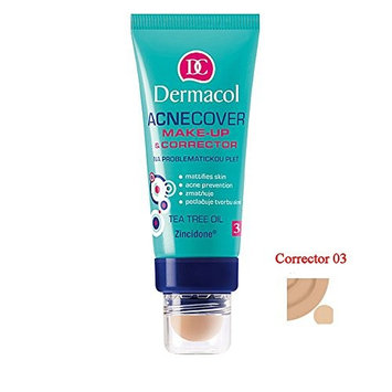 Dermacol Cosmetics Acnecover Make-up & Corrector with Tea Tree Oil 30ml (CORRECTOR 03)