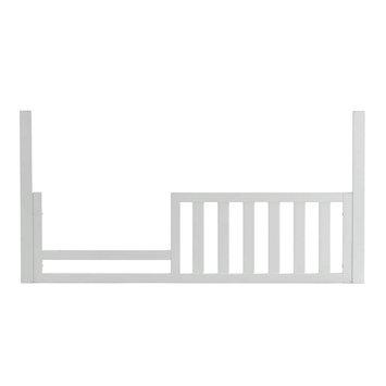 Kolcraft Harper Toddler Bed Rail, White
