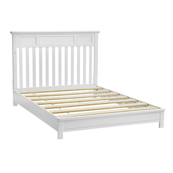 Kolcraft Harper Full Size Crib Bed Rail, White