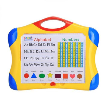 Appletree Arshiner New Children Write and Draw Board Magnetic Learning Case ABC+123