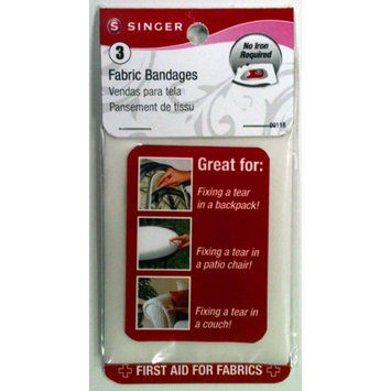 Singer 3-Inch by 5-Inch Fabric Bandages, 3-Pack