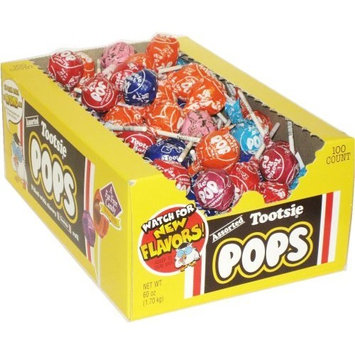 Tootsie Roll Assorted Pops 100 ct [Assorted]