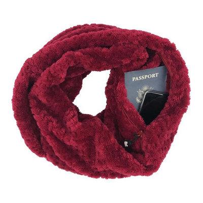SHOLDIT Cozy Scarf with RFID-Blocking Pocket