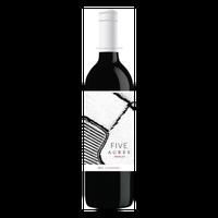 Five Acres Merlot Wine, 750 mL