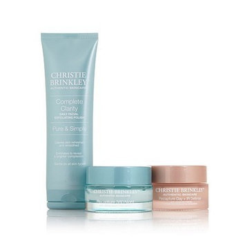 Christie Brinkley ~ Christie's Regimen ~ 3 Piece Age-defying Skincare Collection by Christe Brinkley Authentic Skincare