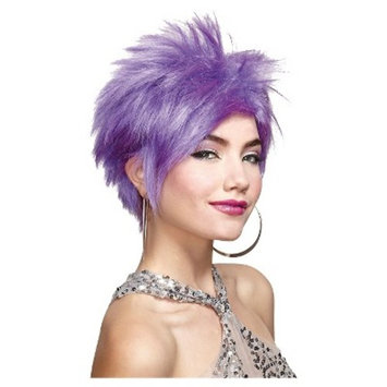 Women's Lavender Wig - One Size Fits Most