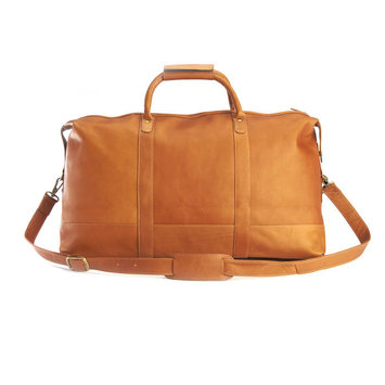 Royce Leather ROYCE Luxury Duffel Bag Luggage Handcrafted in Colombian Genuine Leather