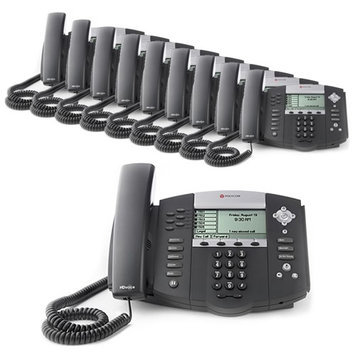 Polycom 2200-12560-025-10 SoundPoint IP 560 4-Line IP Phone (POE)