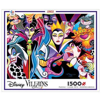 Ceaco Disney 1500 pc Puzzle - Villains