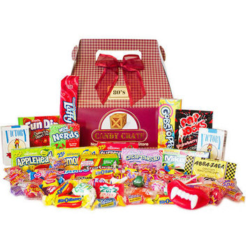 Candy Crate 1980's Retro Candy Gift Box