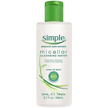Simple Cleansing Micellar Water 6.70 oz (8 Pack)