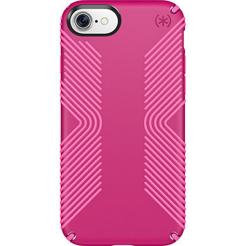 Speck iPhone 7 Presidio GRIP Lipstick Pink/Shocking Pink - Speck Personal Electronic Cases