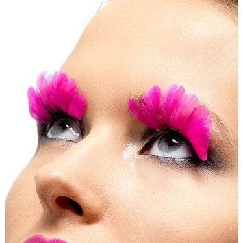 Fever Women's Eyelashes Neon Feather Contains Glue
