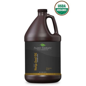 Plant Therapy Hemp Seed Organic Carrier Oil 1 gal.