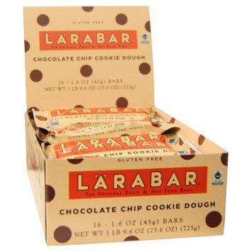 Larabar, Chocolate Chip Cookie Dough, 16 Bars, 1.6 oz (45 g) Each(pack of 3)
