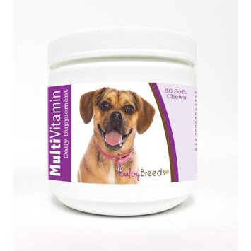 Healthy Breeds Puggle Multi-Vitamin Soft Chews 60 Count