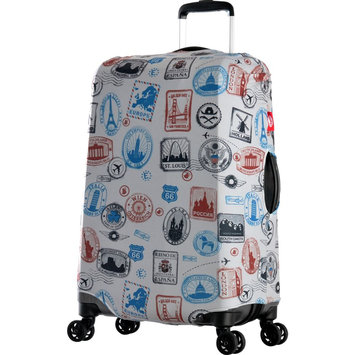 Olympia USA Spandex Luggage Cover-27x31, Stamp