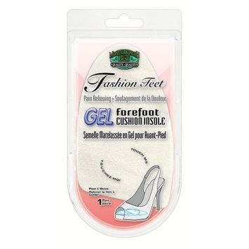 Moneysworth and Best Gel Forefoot Cushion Insole Fashion Feet Shoe Insert