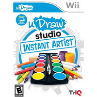 Thq uDraw Studio: Instant Artist (Game Only) (Wii) - Pre-Owned