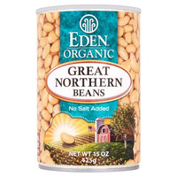 Eden Foods, Inc. Eden Foods, Bean Can Grt North Ns Org, 15 Oz (Pack Of 12)