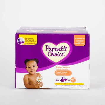Parents Choice Parent's Choice - Scented Baby Wipes, 400ct