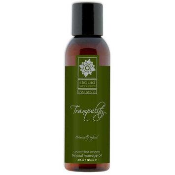 Sliquid Llc Sliquid Massage Oil Tranqility 4.2Oz (Pack of 3)