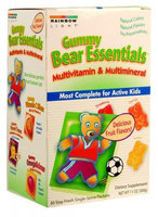 Rainbow Light 0826057 Gummy Bear Essentials Multivitamin Multimineral Fruit - 30 Packets