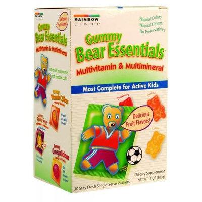 Rainbow Light 0826057 Gummy Bear Essentials Multivitamin Multimineral Fruit - 30 Packets