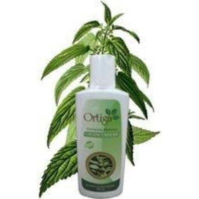 Nettle Hair Loss Lotion for all Types of Hair, cleanser made with extracts from the stinging nettle plant. 250 ml from PERU, Lotion de Ortiga
