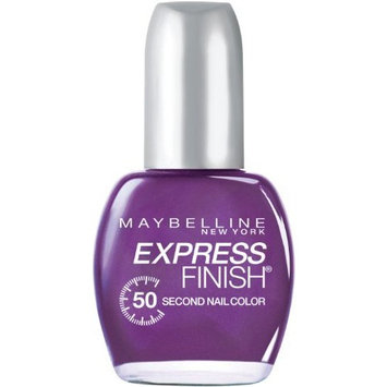 Maybelline New York Express Finish 50 Second Nail Color, Grape Times 896, 0.5 Fluid Ounce