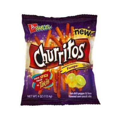 Churritos Fuego Barcel 4oz (16 bags)