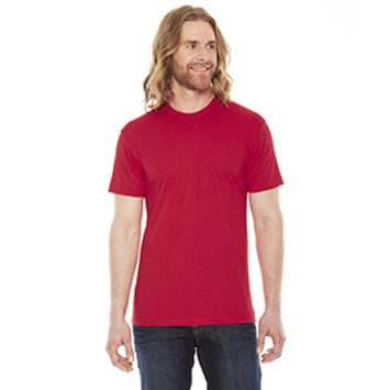 BB401W AM BB401W MEN POLY/CTTN SS TEE RED XS