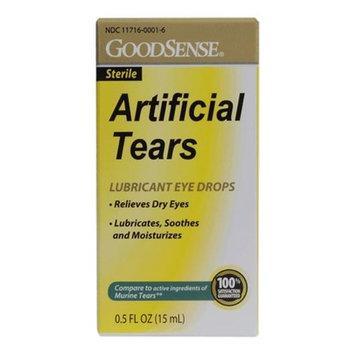 Good Sense Artificial Tears Eye Drops , 0.5 oz -Case of 24