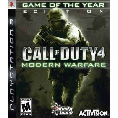 Activision, Inc. Call of Duty 4: Game of the Year (PlayStation 3)