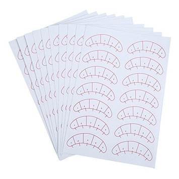 Eyelashes Extension Sticker Adhesive Eye Lash Isolation Positioning Pads Patches Tool 140 Pcs