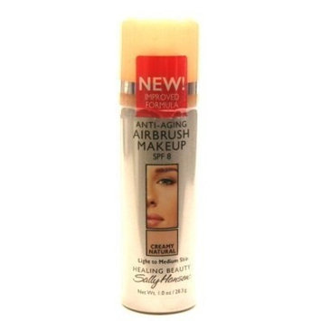 Sally Hansen Fast & Flawless Air Brush Make-Up Creamy Natural 1.5 oz. by DEL LABS