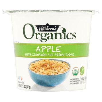 Kathleens Kathleen's Organics Apple with Cinnamon and Brown Sugar Oatmeal, 2 oz, 6 pack (Pack of 2)