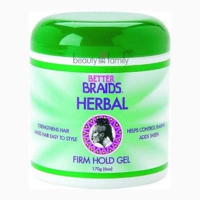 Better Braids Herbal Firm Hold Gel 6 Oz