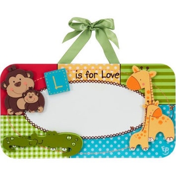 Fisher Price Fisher-Price - Luv U Zoo Keepsake Wall Plaque