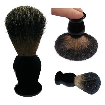 Shaving Brush, QSH 100% top Quality Badger Hair with Imported Resin Material Handle Luxury Facial Care Tools for Safety Razor, Double Edge Razor