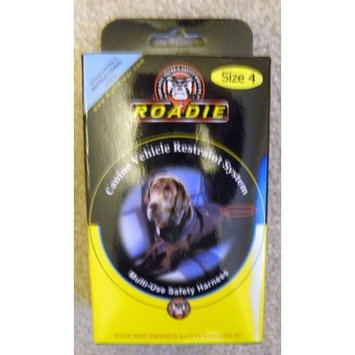 Ruff Rider Roadie Elite Canine Vehicle Restraint System/Utility Harness, size 4