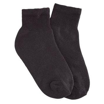 Comfy FeetTM Quarter Cut Socks, 3 Pair